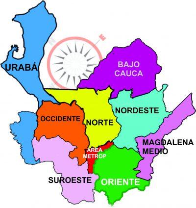 mapa Antioquia