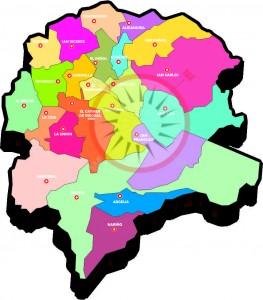 mapa oriente