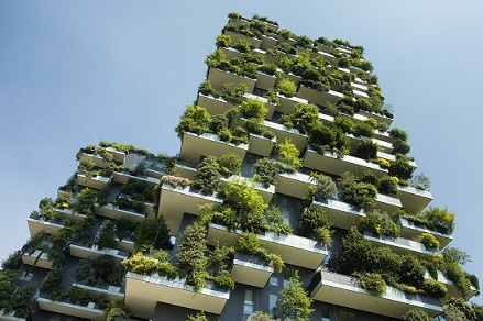 Sustainable green building. Foto Properati.com