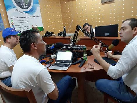 Entrevista dada por el Alcalde electo de Cocorná a los Periodistas Carlos Humberto Gómez y Héctor Hernán Gómez en #ContactoRegional