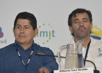 Gilberto Toro, Director de Fedemunicipios y Fabio Ríos, Director de Masora