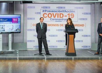 Con 3.800 empresas arrancó el plan para elaborar un inventario de elementos de bioseguridad frente a la pandemia del coronavirus, anunciaron la Vicepresidenta Marta Lucía Ramírez y el Ministro de Comercio, José Manuel Restrepo.