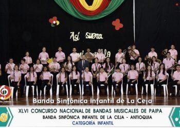 Banda Sinfónica Infantil de La Ceja del Tambo